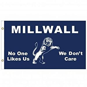 Millwall F.C. Towel No One Likes US, We dont Care Official Merchandise 140x70