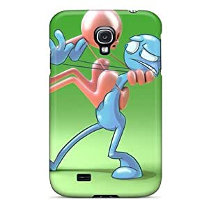 Flexible Tpu Back Cases Covers For Galaxy S4 - 3d Funny Pictures