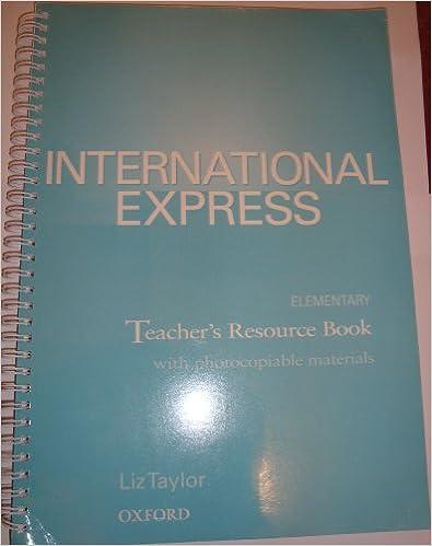 Book International Express Elementary: Teacher's Resource Book: Teacher's Resource Book Elementary level