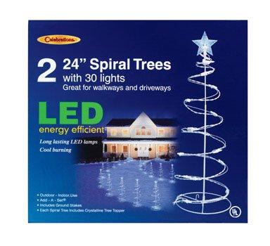 Spiral Christmas Tree Led Lights
