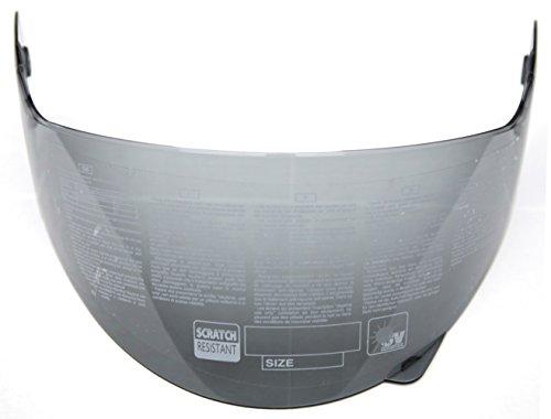 YEMA Helmet Visor Face Shield for YM-925 and YM-926, Smoked (Smoked Visor Motorcycle Helmet)