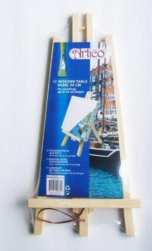 Tischstaffelei Holz, 50x24cm