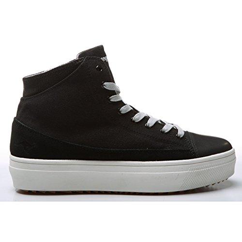 3ae6efa5 KangaRoos - Zapatillas deportivas estilo botín modelo K-MID Plateau 5072  para mujer Negro
