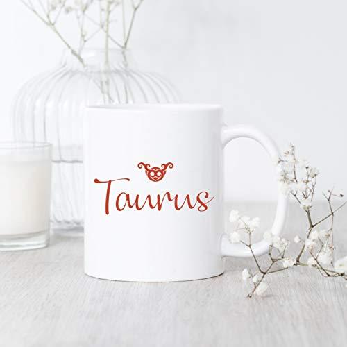 (Mug Creatory  Zodiac Taurus, Mug, Taurus Mug, Taurus Gift, Taurus Zodiac Mug, Taurus Birthday Gift, Taurus Horoscope Mug, Gift For Taurus  Coffee Mug 11oz)