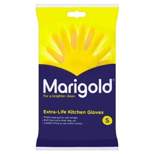 Marigold Extra Life Kitchen Gloves Small x6