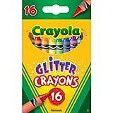 Crayola 16ct Multi-Colored Glitter Crayons