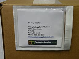 Clear Packing List Envelope Plain Face Back Load Enclosed 2.0 Mil Thick - 4.5\