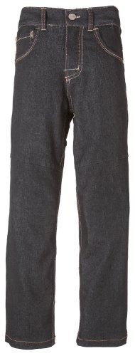 Grindz Boys Slim Fit Black Padded Denim Jeans (Size 5T)
