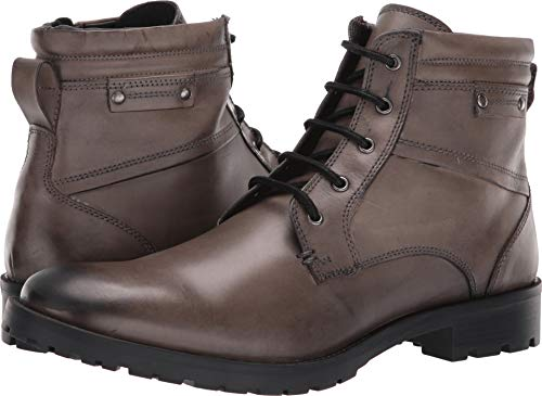 GBX Men's Bomont Ankle Boot, Gray, 10.5 M US