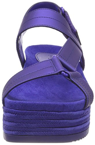 Azul EU Spring Sandalias con Clematis Mujer Piresien Punta Abierta It Blue para Call nqHxvn