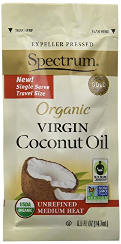 Spectrum Organic Unrefined Coconut Packets