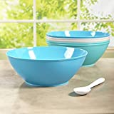 Fresco 10-inch Plastic Mixing and Serving Bowls