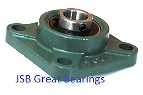 1 2 Ucf201 8 Quality Pillow Block Bearing Units Ucf 201 08 Square Flange Amazon Com Industrial Scientific
