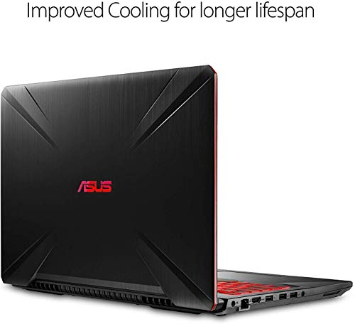 """Asus TUF 15.6"""" FHD VR Ready Gaming Laptop Computer, Intel Hexa-Core i7-8750H up to 4.1GHz, 8GB DDR4 RAM, 256GB SSD, NVIDIA GTX 1050Ti 4GB, 802.11AC WiFi, Bluetooth 5.0, Windows 10, iPuzzle Mouse Pad"""