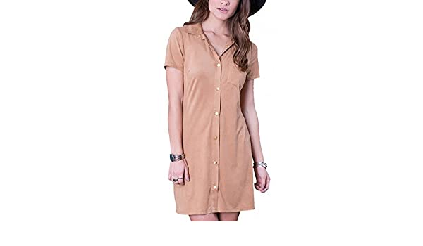 Others Follow OD163032 Preston Black Suede Dress