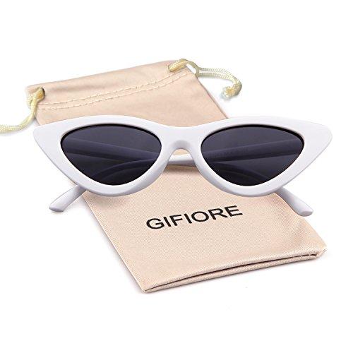 Clout Goggles Cat Eye Sunglasses Vintage Mod Style Retro Kurt Cobain Sunglasses -