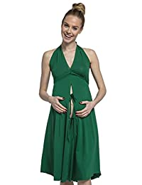 HAPPY MAMA. Womens Labor Delivery Hospital Gown Breastfeeding Maternity. 074p