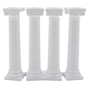 Wilton 303-3703 - Pack de 4 columnas estilo griego para tartas, 12,5 cm