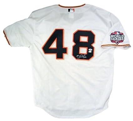 e89680f7e Pablo Sandoval PSA DNA Signed Giants 2012 W.S. Jersey at Amazon s ...