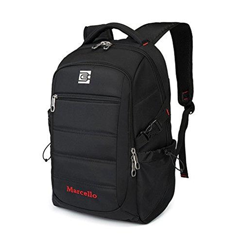 han-danny 39,6cm Business laptop zaino borsa da viaggio impermeabile per uomo e donna fino a 39,6cm e zaino per notebook computer portatili, MacBook zaino borse da viaggio zaino da escursionismo con
