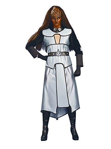 Star Trek the Next Generation Female Deluxe Klingon, Adult Standard Costume -
