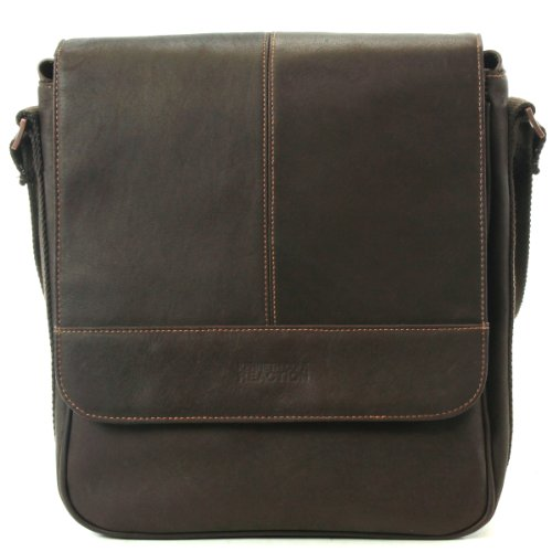 Kenneth Cole Reaction Luggage A New Bag Inning, Brown, One Size Kenneth Cole Cowhide Messenger Bag