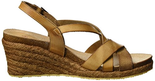 Fred Heels de la Brown Cognac Women's Sandale Bretoniere Sandals Wedge rrqx7Y
