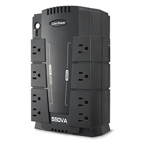 CyberPower CP550SLG Standby UPS System, 550VA/330W, 8 Outlets, Compact (Ups Cyberpower)
