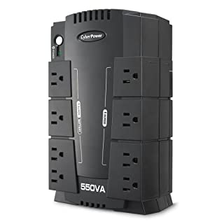 CyberPower CP550SLG UPS Standby Green  - 550VA/330W 8-Outlet RJ11 Compact Design (B002QAUN2M) | Amazon price tracker / tracking, Amazon price history charts, Amazon price watches, Amazon price drop alerts
