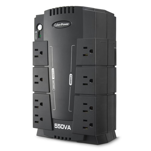 CyberPower CP550SLG/CP550HG Standby UPS 550VA 330W (330w Outlet)