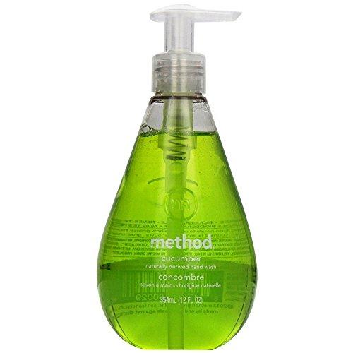 Method Gel Hand Wash, Cucumber 12 oz