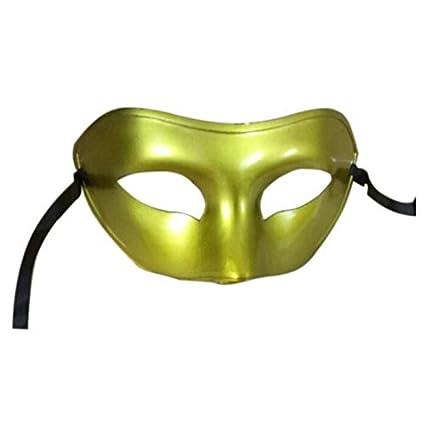 SODIAL(R) Mascara de Mascarada para Hombre Mascara de pelo Traje de fiesta mascara