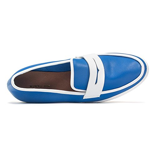 ALL BLACK Penny Piper Loafer Blue mFOLiw6AO