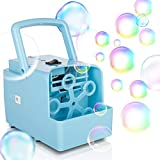 Best Bubble Machine For Kids - Bubble Machine, Portable Bubble Maker Toy for Kids Review