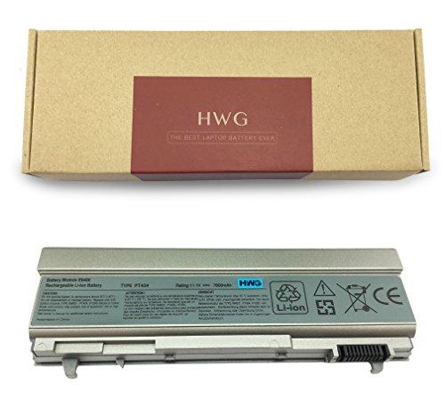 (HWG E6400 Battery (9-Cells) Compatible Latitude E6400 E6400 ATG E6400 XFR E6410 E6410 ATG E6500 E6510 etc. Series, Fits Precision M2400 M4400 M4500 etc. Series (11.1V 7800mAh))