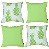 Vantextile 4PCS Home Decor Cushion Cover, Outdoor Waterproof Cushion Cover,18x18inch(Insert Not Include).