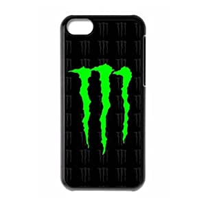 iPhone 5C Monster Energy pattern design Phone Case