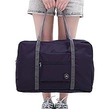 Crazy Cart Travel Nylon Lightweight Foldable Duffel Luggage Bag for Men, Women 32 Lite