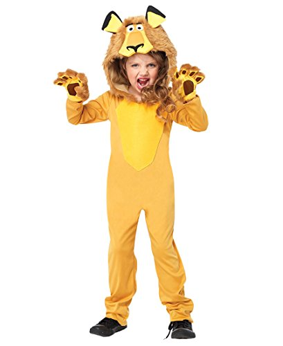 Leg Avenue Lion Costumes - Alex the Lion Child Costume - Medium
