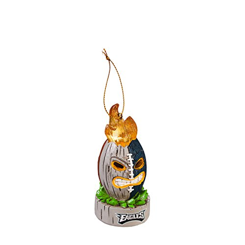 (Team Sports America Philadelphia Eagles Lit Team Tiki Ball Ornament)