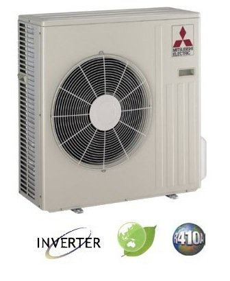 Mitsubishi Electric MUY-GE18NA Ductless Heat Pump Outdoor Unit Cool Only, 18000BTU