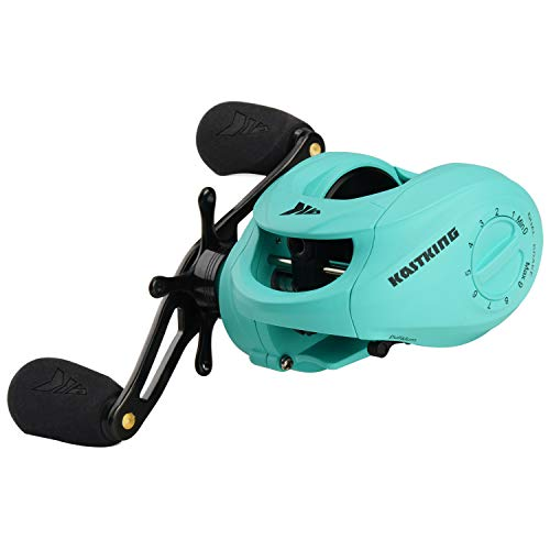 KastKing Spartacus Baitcasting Reel,Seafoam Green,Right Handed Reel