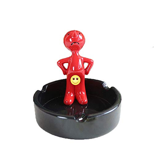 QMJHL Environmentally Friendly Resin ashtrays, Coffee Table Ornaments, Creative Birds and Anime Styling, Vivid, can be Used for Home, car or Decoration.