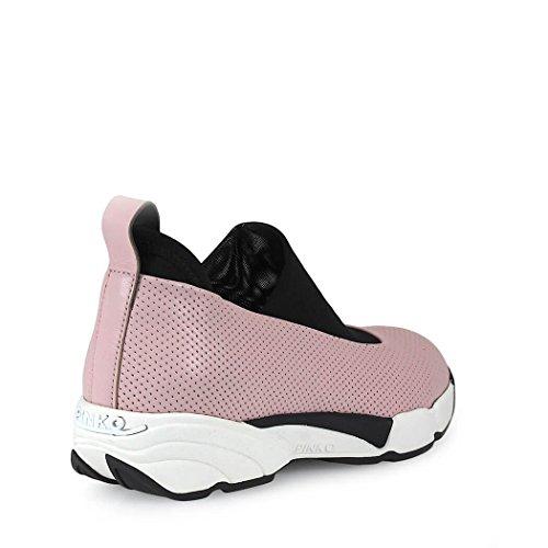 Mujer Slip on Cuero Rosa Pinko 1h209uy39mp39 Zapatillas OvwAqv8T