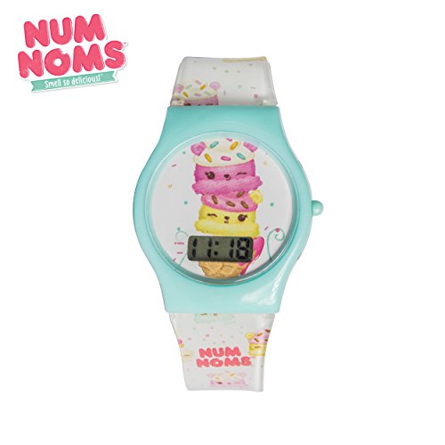 Num Noms Little Girl's Scented Strap Character Design LCD Digital Wrist Watch