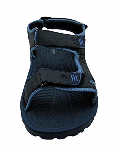 Luft Mens Justerbara Remmar Sandal Marinblå