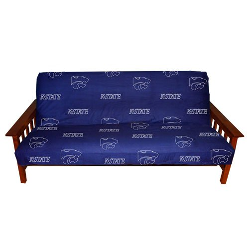 Kansas State Futon Cover - Full Size fits 6 and 8 inch mats