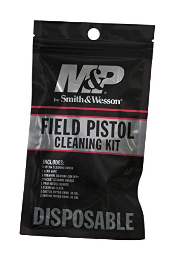 Smith & Wesson M&P Handgun Field Cleaning Kit for Pistols in Convenient Resealable - & Wesson Handgun Smith