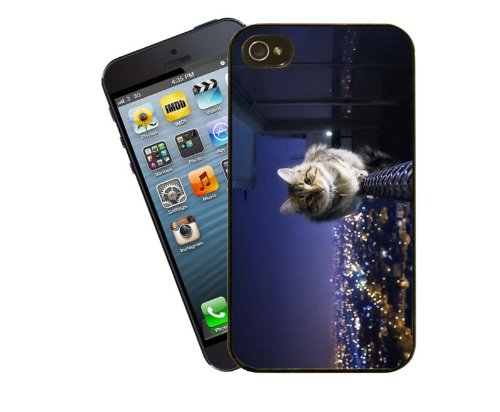 Katze-Telefon-Fall, design 6 - für Apple iPhone 5 / 5 s - Cover von Eclipse-Geschenkideen