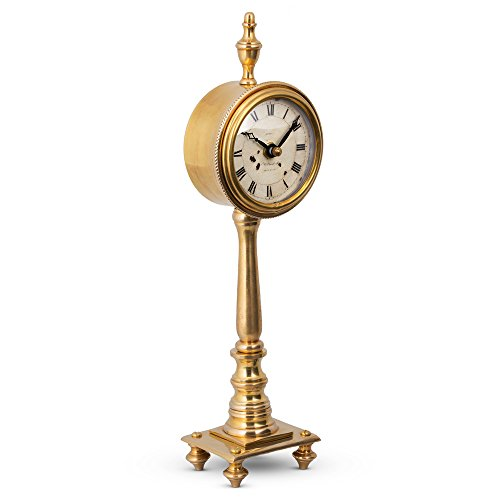 "Pendulux, Table Clock, 12"" H x 4"
